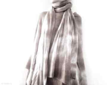 Anna Damzyn? szal szalik wełna ciepły zimowy unikatowy