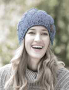 Smile błękity czapki brain inside czapka, zimowa, wełniana