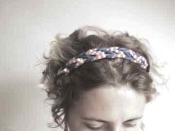 Opaska i bransoletka 2 w 1 ozdoby do włosów zaamotanazofja