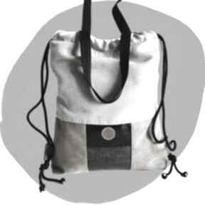 Torboplecak 2w1 - a little wild na ramię tasha handmade torba