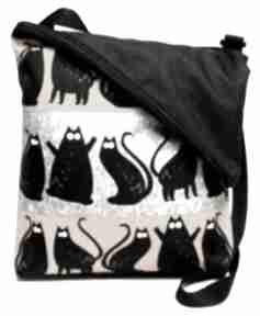 Na ramię gaul designs listonoszka, torba, koty