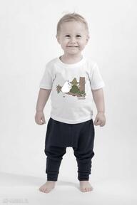 Licencjonowana koszulka dziecięca muminki muminek i włóczykij