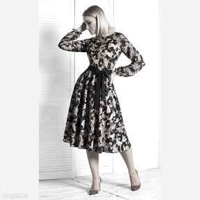 Sukienka roma midi fatima sukienki livia clue orient, wzory, we