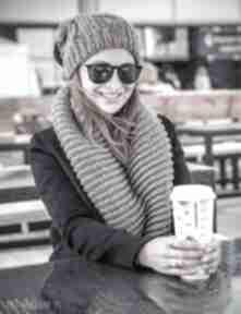 Komin ice coffee szaliki brain inside szal, szalik, szale