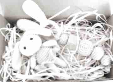 Zestaw grzechotka maskotka zabawki artyha kids gryzak