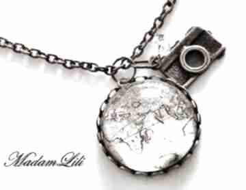 Naszyjnik z brązu 'obieżyświat ii' orginalny naszyjniki