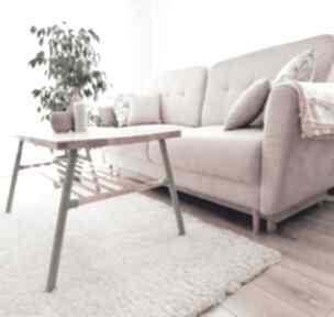 Stolik kawowy drewniany skandynawski stoły dizzydot drewniany