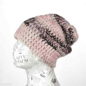 Kolorowa czapka unisex uniwersalna beanie 015 czapki godeco