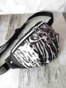 Nerka saszetka biodrowa wodoodporna handmade torebka na pas