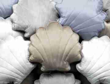 Dekoracyjna duża poduszka muszla poduszki kuferek malucha
