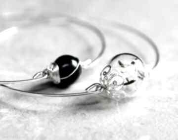 Bransoletki perła dmuchawiec sztuki dmuchawce kulka srebro
