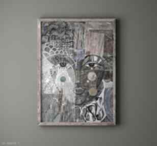 Plakat 50x70 cm - kryza plakaty creo plakat, wydruk, twarz