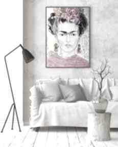 Plakat 50x70 cm - frida plakaty creo plakat, wydruk, frida