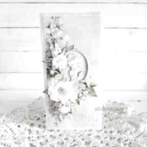 Pamiątka i komunii św , kartka w pudełku, 837 scrapbooking