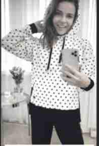 Bluza dresowa style w kropki bluzy trzyforu bluza, sukienka