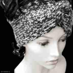 Szeroka opaska, turban opaski albadesign turban, opaska na uszy