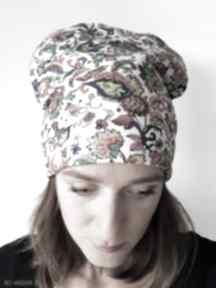 Czapka kilimi czapki katarzyna staryk etno, boho, folk, rosja