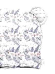 Poduszeczka miś flamingi szary pokoik dziecka lilifranko