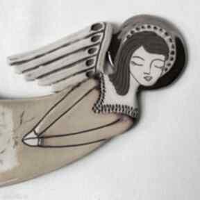 Anioł ceramiczny - zlatna livada vela ii dekoracje smokfa anioł