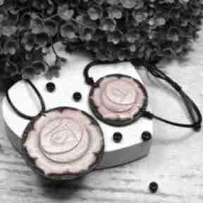Komplet biżuterii svadhisthana - wisiorek i bransoletka czakry