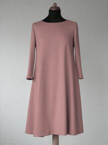 sukienki? sukienka sukienki dzianina rozkloszowana trapez mini