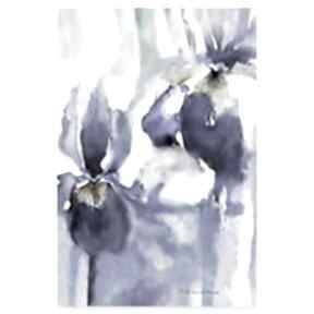 Grafika cyfrowa latające kwiaty 40x60 renata bulkszas cyfrowa