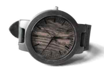 Drewniany zegarek new style ebony red zegarki ekocraft zegarek