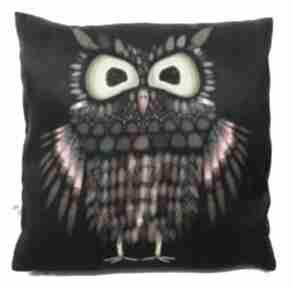 Poduszka dekoracyjna z sową poduszki gaul designs poduszka, sowa