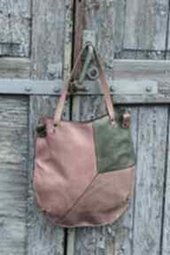 Kolorowa torba, miejska torebka damska na ramię navahoclothing