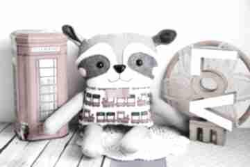 Psotny szop - artur 39 cm maskotki maly koziolek szop, chłopczyk