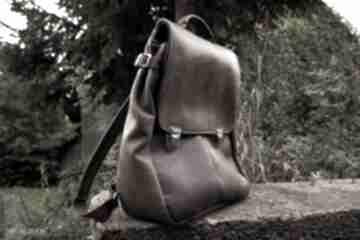 Lilith chimera plecak torba zgniłozielona skóra czajkaczajka