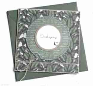 Dziękujemy:: kartka handmade:: podziękowanie kartki kaktusia
