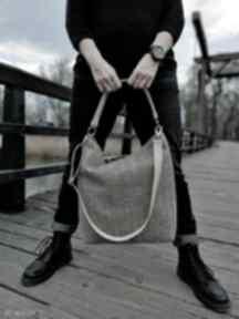 Duża, poręczna torba na ramię world of barracuda torba, duża