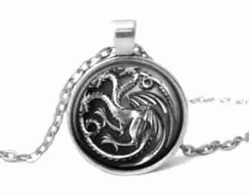 Smoki gra tron medalion łańcuszkiem daenerys prezent ręcznie