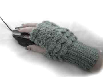 Rękawiczka, ocieplacz, mitenka do pracy przy komputerze