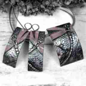 Komplet biżuterii ważki kameleon biżuteria ważka, kolorowa