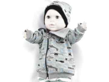 Samoloty dwustronna bawełniana bluza dla chłopca, bawełna