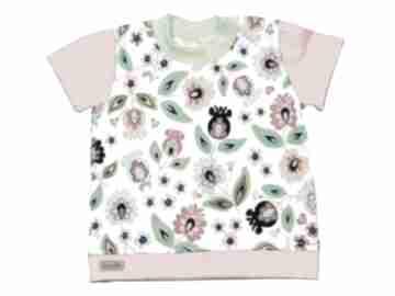 BamBit-shirt bluzka-bawełniana dla-dziewczynki ludowa folkowa