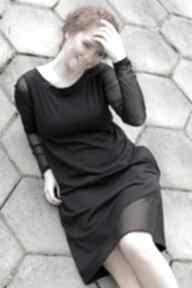 Sukienka mała czarna sukienki navahoclothing wygodna sukienka