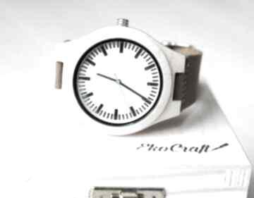Drewniany zegarek maple classic zegarki ekocraft zegarek