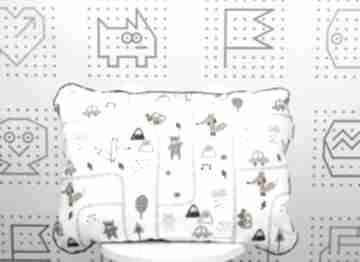 Płaska poduszka do łóżeczka brum pokoik dziecka nuvaart