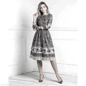 Sukienka anna midi nevada sukienki livia clue midi, na jesień,