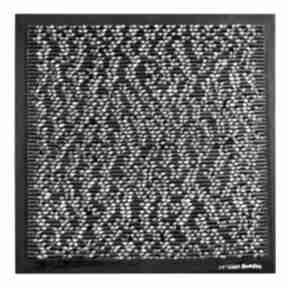 Formy widzenia asamblaż mozaika upcyclingowa dekoracja ścienna