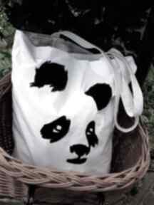 czarnaowsianka! panda - torba z dowolnym ręcznie wykonanym