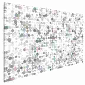 Obraz na płótnie - kolory kropki plamki 120x80 cm 83701 vaku