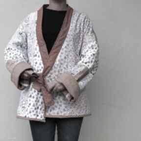 Płaszcz patchworkowy - waciak płaszcze patchworkart waciak, folk