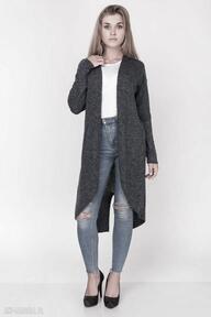 Kardigan, frak rozpinany swetry feltrisimi frak, długi,