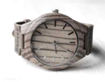 Drewniany zegarek zebra clear classic zegarki ekocraft zegarek