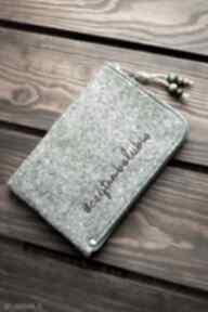 Filcowe etui na czytnik #czytambolubię happyart czytnik, e book