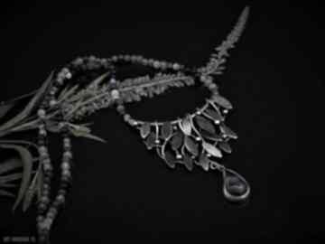 Naszyjnik kwiat bzu naszyjniki jachyra jewellery natura, ametyst